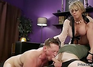 Big boobed milf tell her horny husband what she wants to do |