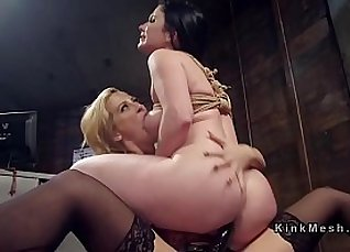 Sally Queen Anal fucked by dildo in public |