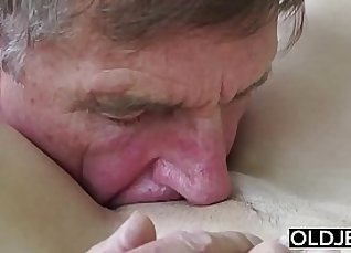 Real Teen Blowjob Cum in Pussy  