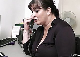 My BBW colleague gives perfect blowjob in the office video |