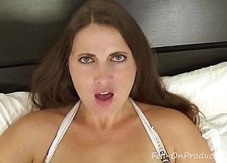 MILF Mom Filming Her Son Home  