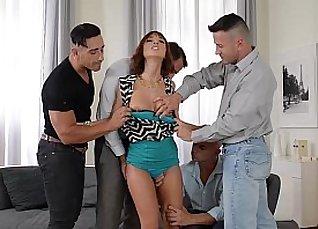 Wife gives pole dance orgy to husband |
