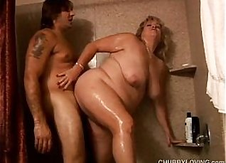 Blonde BBW hooker rides bbc that has a big boobs  