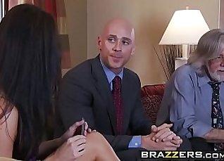 Blonde MILF sucks and fucks her horny husbands dick |