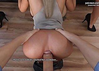 Blonde girlfriend anal creampie |