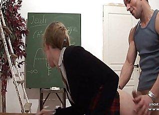 PerfumeGirl Fucks Their French Teacher at School |