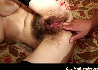 Hairy leoli tries anal in summery tub casting |