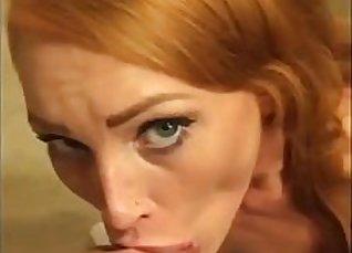 Cloneberfire Vesna Blows Horny Redheads |