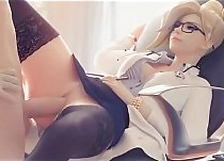 Office Woman Gets Her Pussy Fucked By Guy Twice a Day |