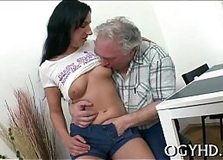 Excited with young sucking |