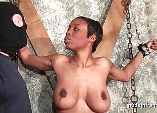 Black and bigtits bdsm slave |