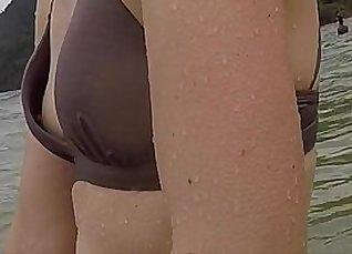 Mom With Housemear Spy Cam caught in Miami Beach |