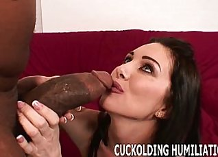 sleazy hot babe sucking his cock in camsock, cumshot dripping  