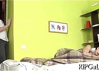 Rec Room Masturbates in Perfect Hammocks |