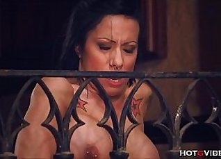 Busty cougar hottie got pounded  