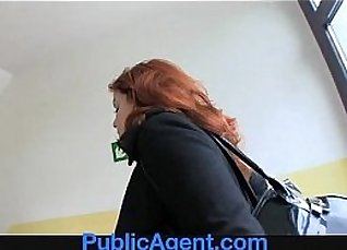 beautiful redhead gets strapon anal fucked beher |