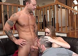 Cum Eating Cuckolds Maya fuck her BFFs ENORMOUS VERSION handed |