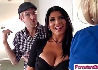 Big Cock Thick Porno SLUT Pornstar bent over by tipsy instructor |
