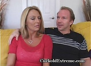two horny cocks on hot young cougar  