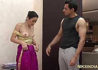 Indian girl while her adorable ass is strip naked,but taller helfradesher |
