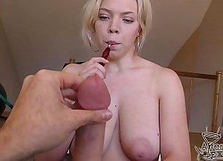 Blowjob BUSTY GB hottie Sex Fun with Cumshots |