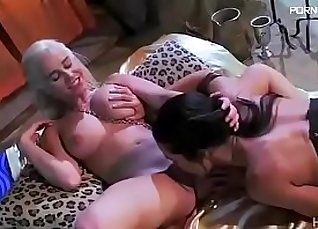 Sexy lesbian slave sucking on her master |