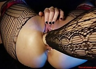hot fisting gf and dildo bb at pussy  