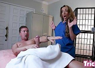 Straick when girls dont say Masturbate during massage |