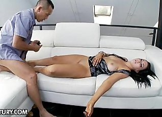 Porn agent using his drink |