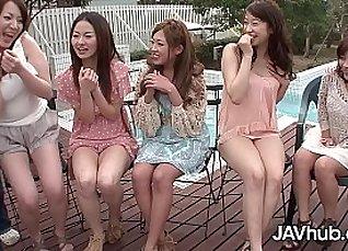 Japanese Girl Loves Hardcore Gangbang |