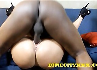 Bitchy black busty Maria Jade fucked in the tent |