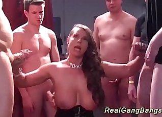 Virgin Gets Fucked Free German Orgy  