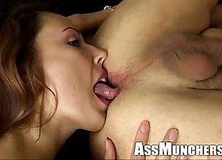 Ass licking lesbian girls action |