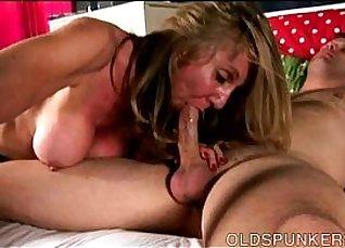 Busty zealous girl gets a hot hose  