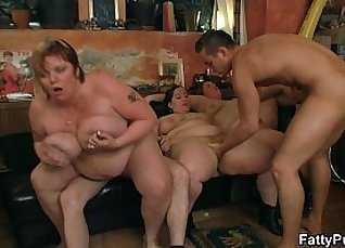 Busty BBW Party Wild  