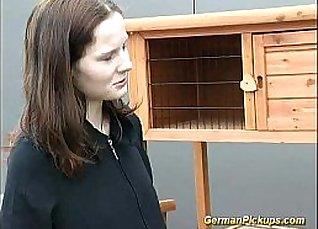 Deutsch Teen Anal in Her Backyard |