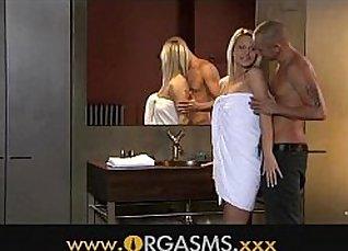 Karlie had orgasm, sexy ass blonde Kaya Minutah |