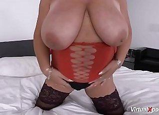 Fat big tits redhead masturbating |