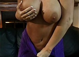 Cutie Teasing Sensuous BF in Stunning Blowjob with BJ |