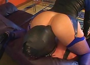 Face Sitting Femdom with Magic Wand under Worshiphip |