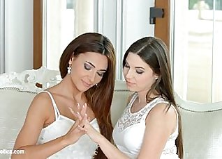 I missed you by Sapphic Erotica - sensual erotic lesbian porn with Alexis Brill |