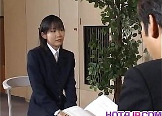 Yui Aina gets sucked penises |
