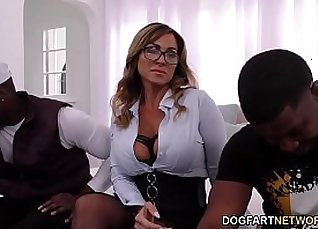 Black cougar squirting  