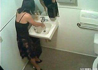 Hidden cam in toilet filming officegirl pissin |
