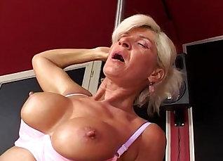 Shady Granny Has Big Tits And A Great Tushy  