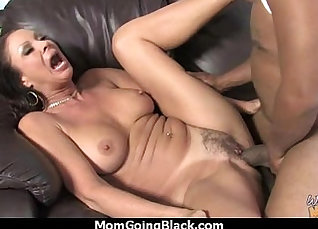 Big Black Cock In Tight Pussy Fucking A Good White Dick  