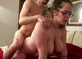 Busty amateur wife came for birng money |