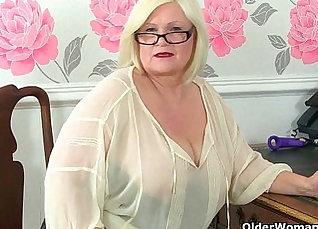 British granny strip genna |