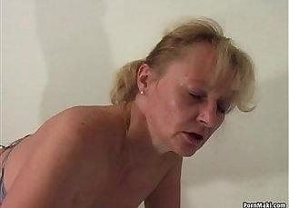 Granny Latina fist fucked by two Dicks |