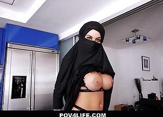 Busty Arab Teen Clair - POV Movie |